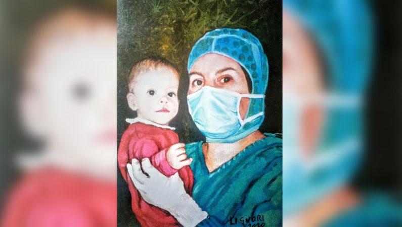 """Francica, il direttore artistico di """"Fior di loro art"""" mette all'asta le sue opere per l'Ospedale di Vibo Valentia"""