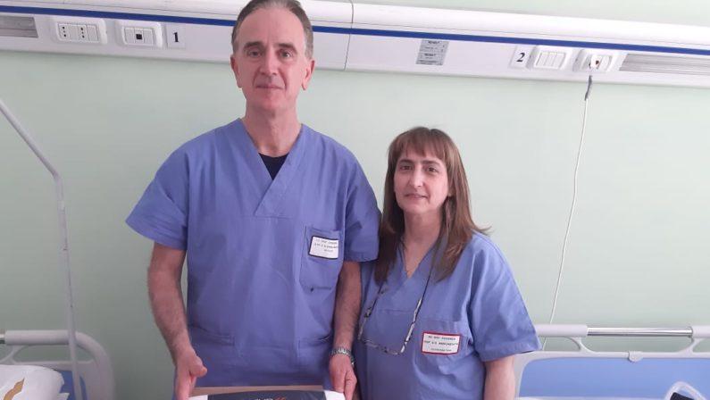 I consulenti del lavoro donano un respiratore polmonare all'ospedale dell'Annunziata di Cosenza