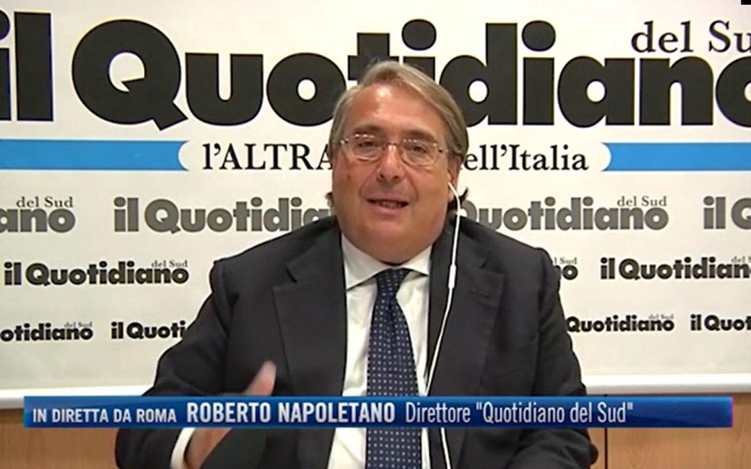 AUDIO – Napoletano a Radio Radio: «Draghi è la carta estrema per salvare l'Italia»