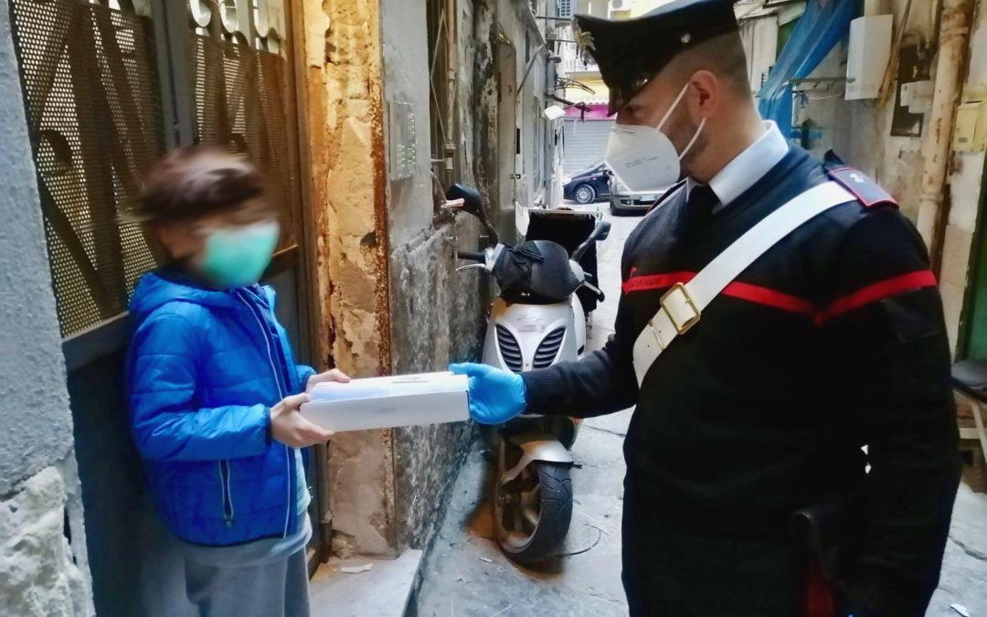 Napoli, Rione Sanità: lezioni a distanza, consegnati 40 tablet ai bambini