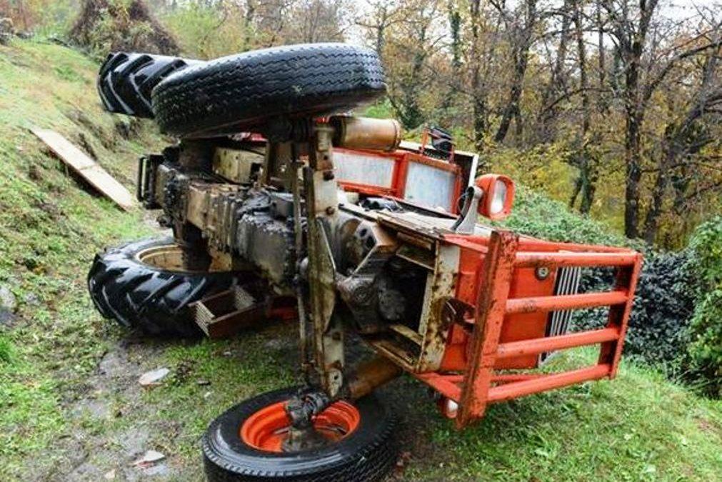 Monteverde, muore a 13 anni schiacciato dal trattore