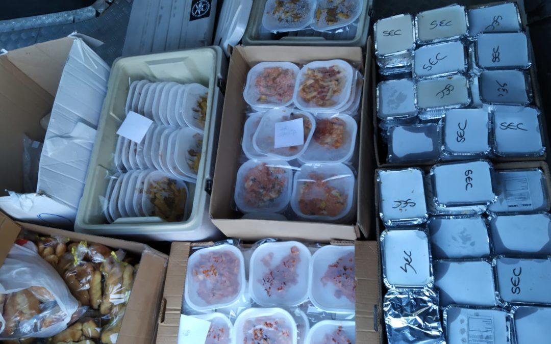 Il cibo distribuito dalla Terra di Piero