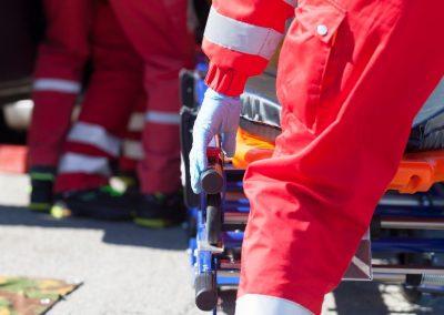 Ambulanza Paramedici soccorsi incidenti stradali