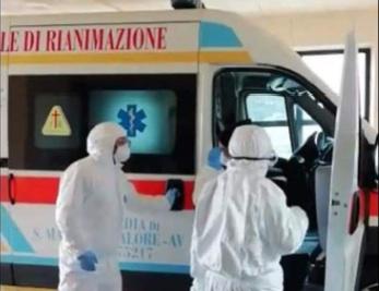 Coronavirus, guarito operatore 118 di Avellino, dimesso dall'ospedale