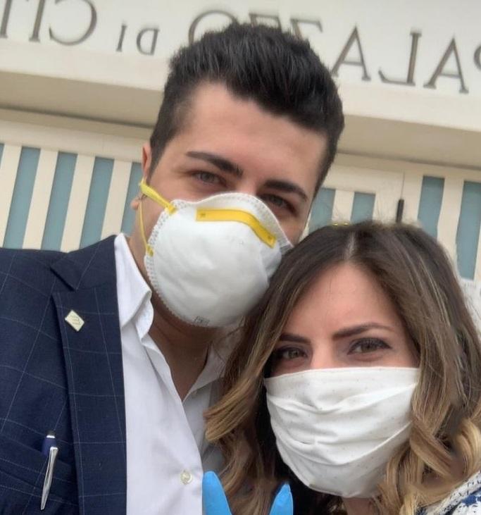 Anita e Lorenzo, sposi nel Vibonese nonostante l'emergenza virus: «Lo dovevamo a noi stessi»