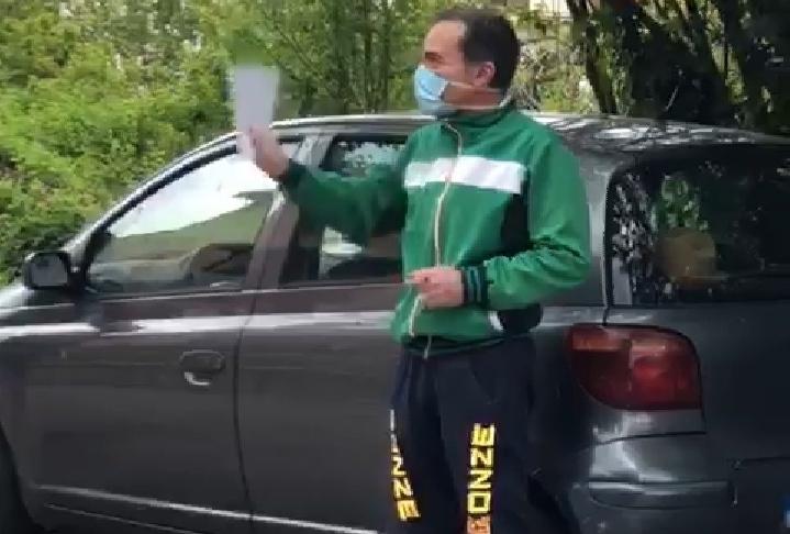 Coronavirus, torna a casa il carabiniere di Rogliano guarito dal Covid-19 - VIDEO