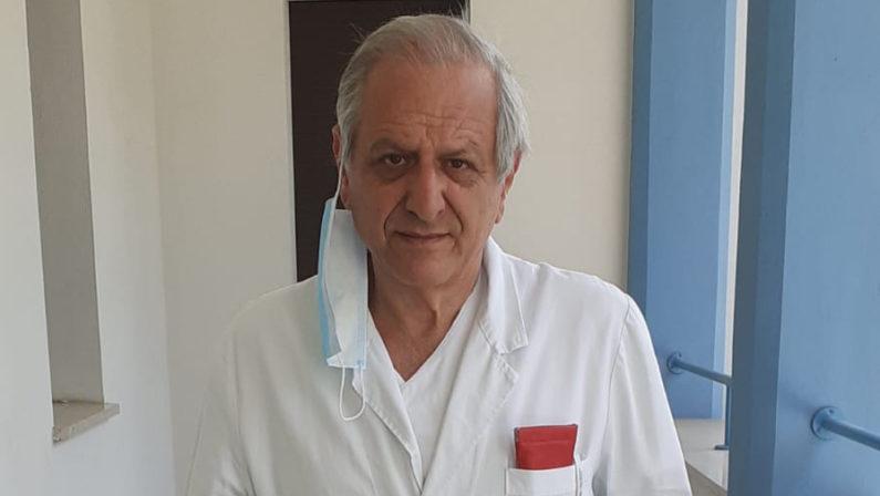 Coronavirus, il sindaco-medico di Botricello nel reparto Covid di Mirandola: «Ogni paziente lascia il segno»