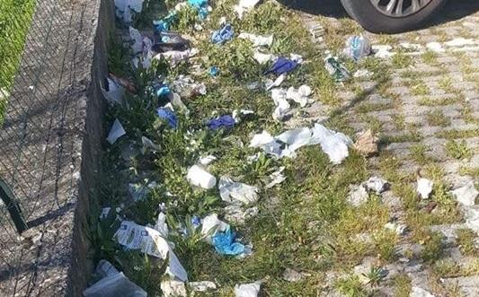 Mascherine e guanti gettati a terra, l'appello di Legambiente Calabria: «Sono nocivi»