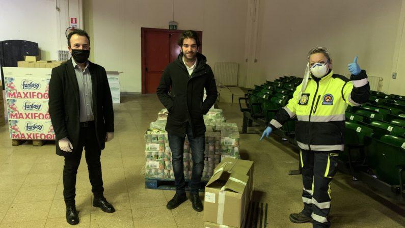 Coronavirus/ Natural Drops Srl dona 1000 gel igienizzanti al Comune di Avellino