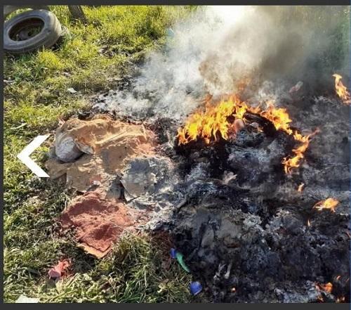 Caivano: Terra dei fuochi. Carabinieri arrestano 35enne, aveva incendiato alcuni rifiuti in strada