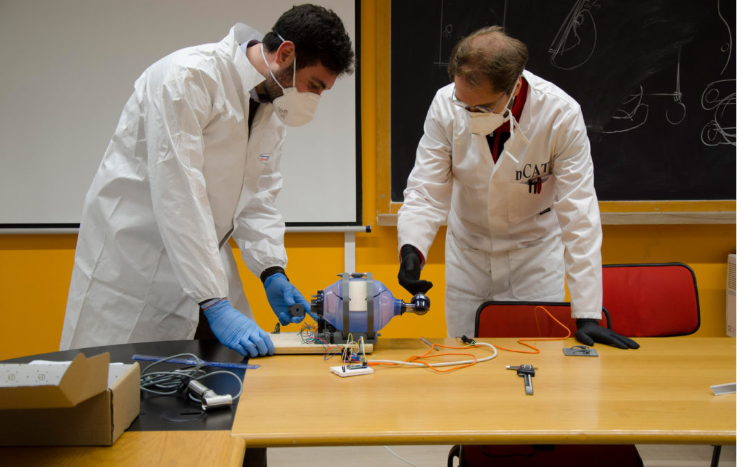 Coronavirus, nuovi respiratori a palloncino sviluppati all'Unical