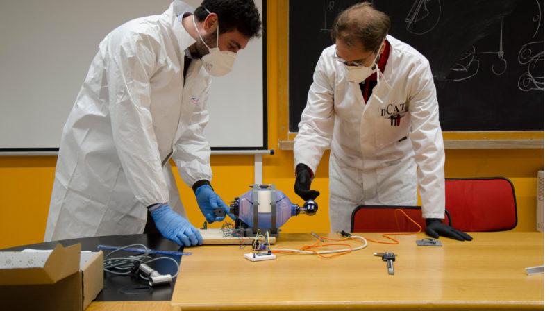 Coronavirus, nuovi respiratori a palloncino sviluppati all'Unical Una innovazione per curare i malati di Covid-19