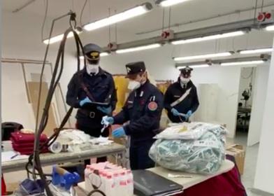 Scisciano: sequestrate 11mila mascherine non autorizzate. Imprenditrice denunciata