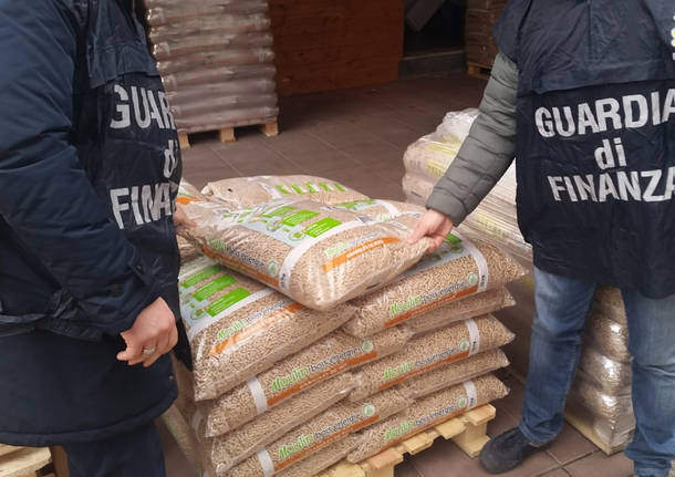 Benevento, sequestrate 20 tonnellate di pellet contaminato: 2 indagati
