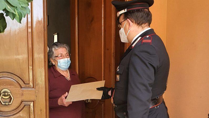 La pensione? Consegnata dai Carabinieri