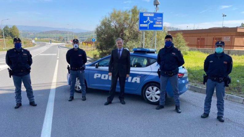 Nuovi poliziotti per rinforzare la Questura di Catanzaro e il Commissariato di Lamezia