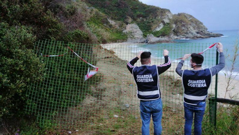 """Lavori abusivi, sequestrata spiaggia sulla """"Costa degli Dei"""": denunciati responsabili - VIDEO"""