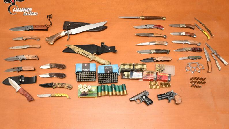 Pagani, un arresto per detenzioni di armi e munizioni clandestine