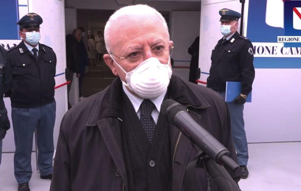 """Riaperture, De Luca """"Non ho firmato l'accordo con il Governo"""""""