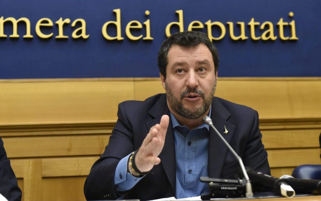 "Salvini ""Sul caso Palamara intervenga Mattarella"""