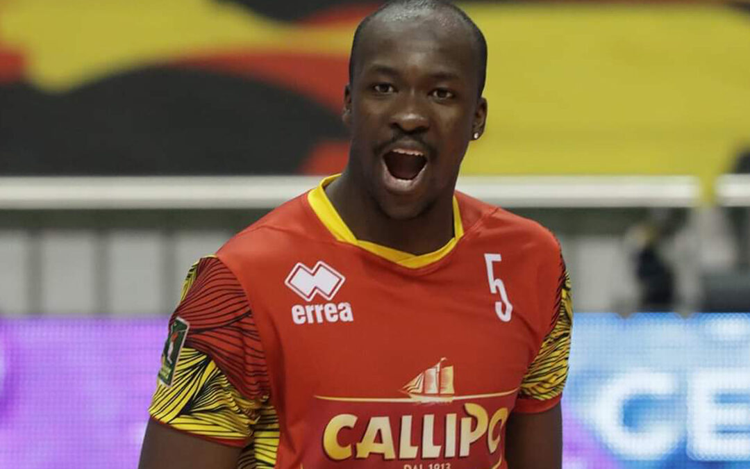 Tonno Callipo, Abouba rinnova il contratto per la stagione 2020-21 di Superlega Volley