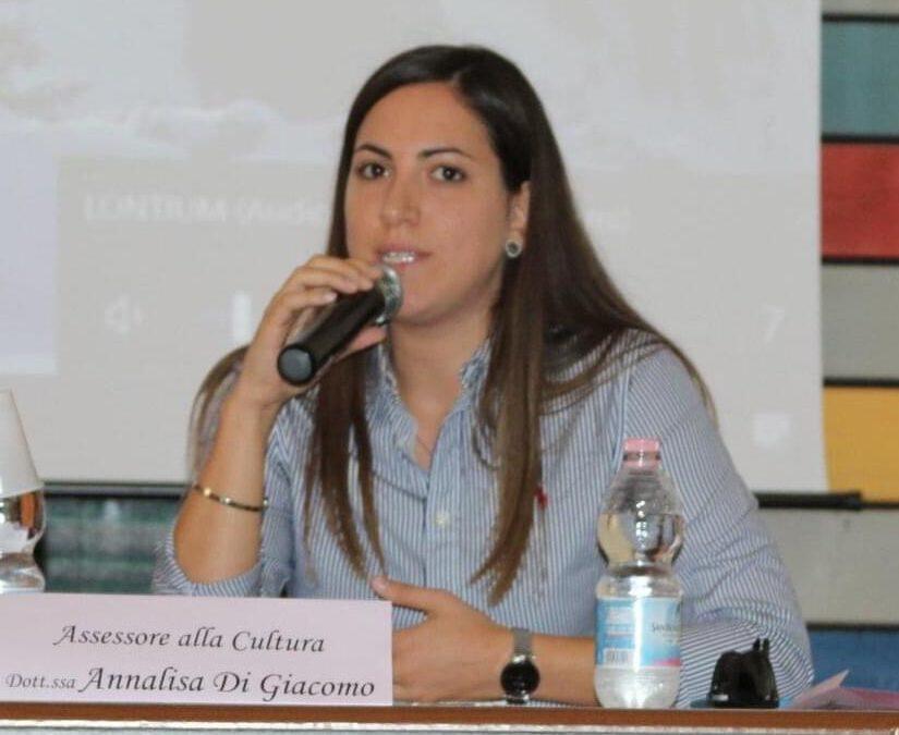 Annalisa Di Giacomo, assessore alla Cultura di Lavello