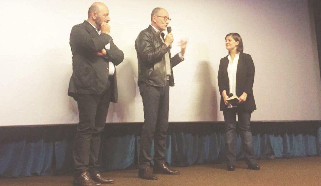 Eugenio Attanasio, Ugo Rufino, Mariarosaria Donato durante la consegna del premio Mario Gallo