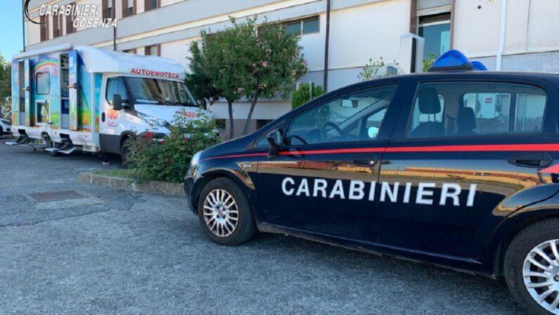 Donazione di sangue: l'emoteca della Fidas alla caserma dei carabinieri di Paola