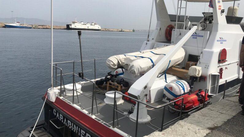 Patrimonio culturale sommerso, controlli subacquei dei carabinieri nel mare di Reggio Calabria