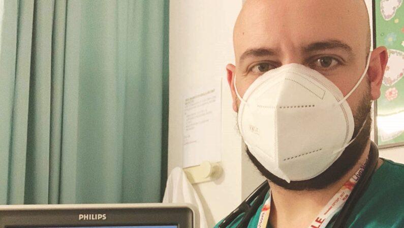 Io cardiologo, controil Covid in prima linea
