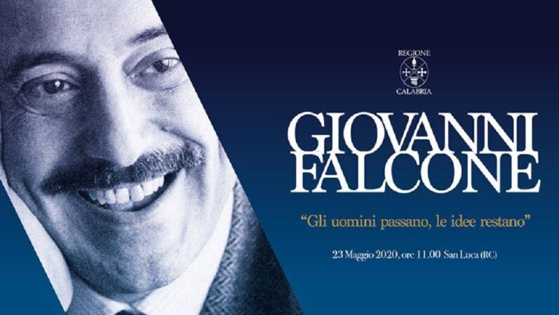 La Regione organizza a San Luca una cerimonia per ricordare Giovanni Falcone