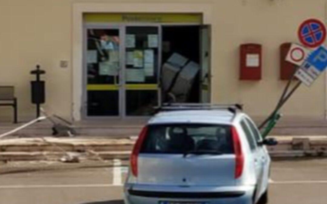 Furto a Grassano, nella notte svaligiato l'ufficio postale del comune materano