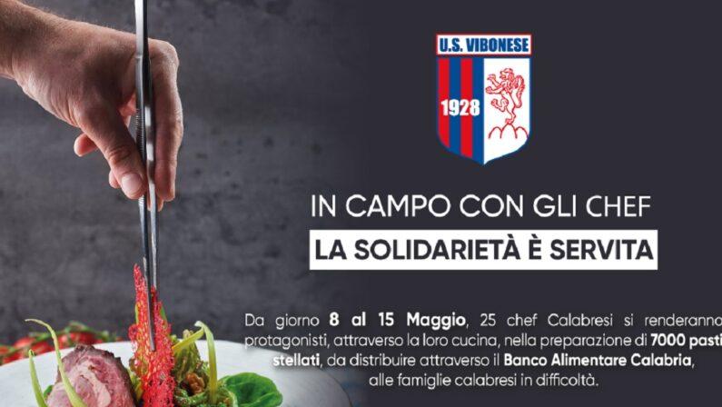 La solidarietà scende in campo con gli chef stellati: l'iniziativa della Vibonese