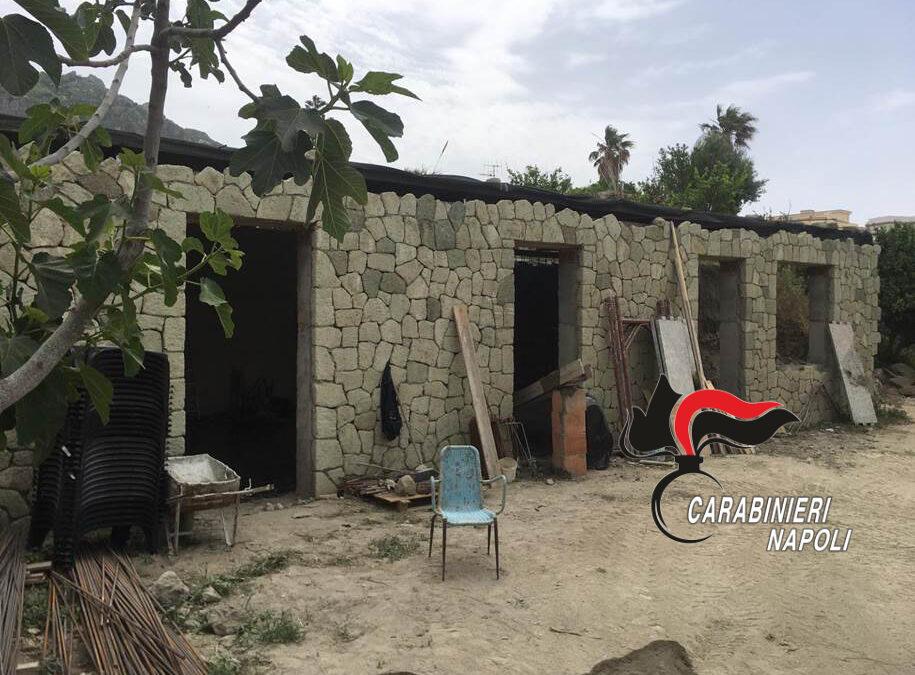 Sequestrata casa abusiva a Forio d'Ischia