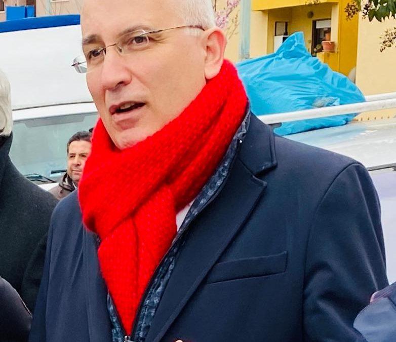 Livio Valvano, sindaco di Melfi e  segretario regionale dei socialisti lucani