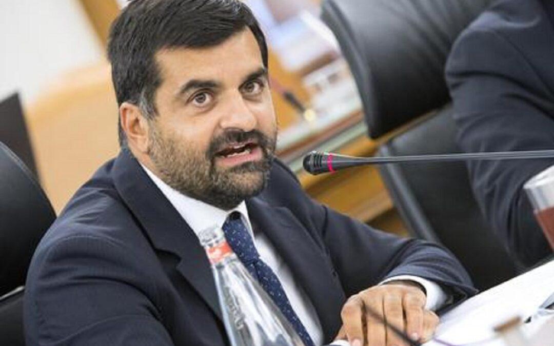 Luca Palamara, ex componente del Csm ed ex segretario dell' Associazione Nazionale Magistrati
