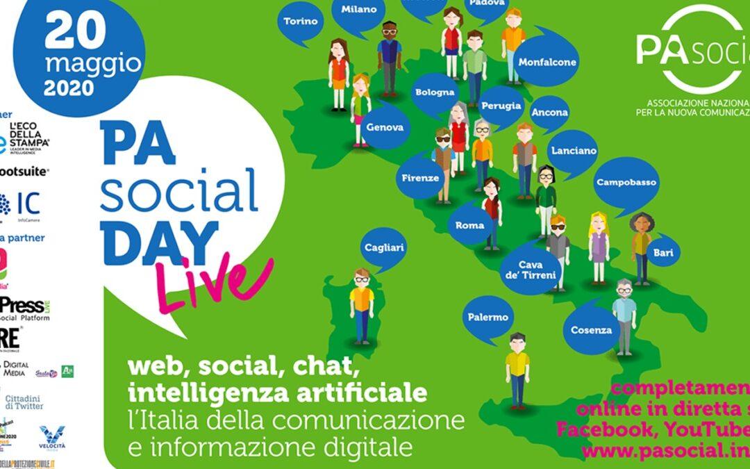 VIDEO – PA SOCIAL DAY 2020 – L'Italia della comunicazione e informazione digitale