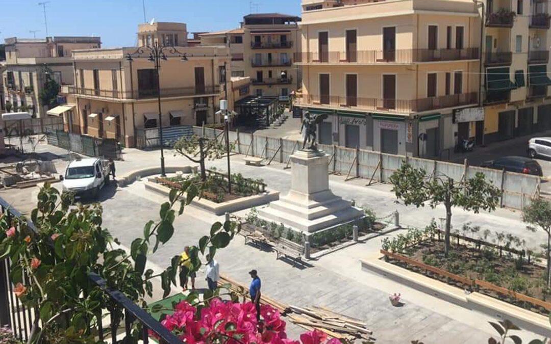 Tropea, terminati i lavori di riqualificazione di piazza Vittorio Veneto