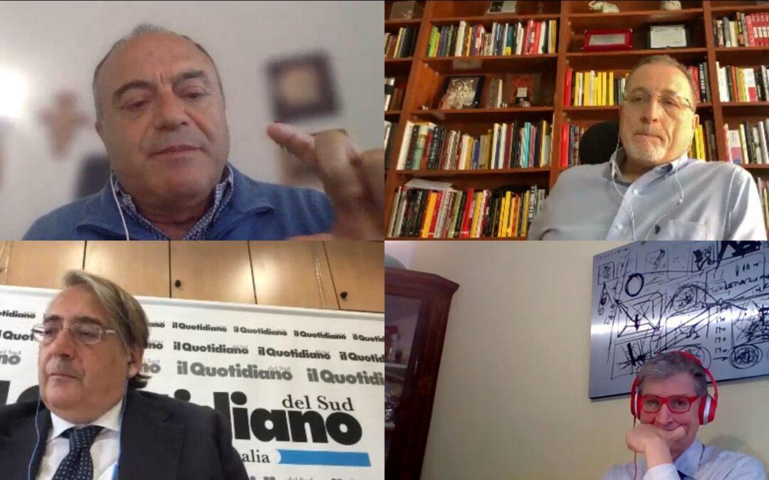 """Forum con Nicola Gratteri, Filippo Spiezia e Antonio Nicaso – C'è solo la liquidità della 'ndrangheta che fa anche la """"Banca del Nord"""""""