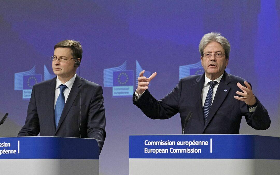 Vladis Dombrovskis e Paolo Gentiloni