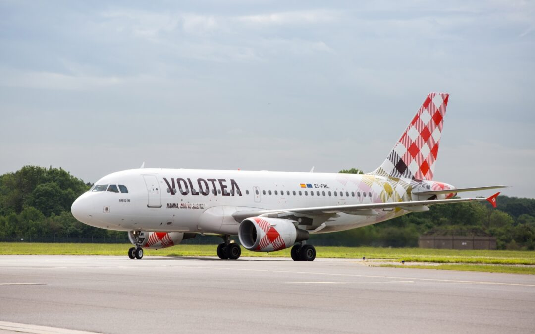 Volotea apre ai collegamenti tra Lamezia e Trieste, aereo bisettimanale per l'estate