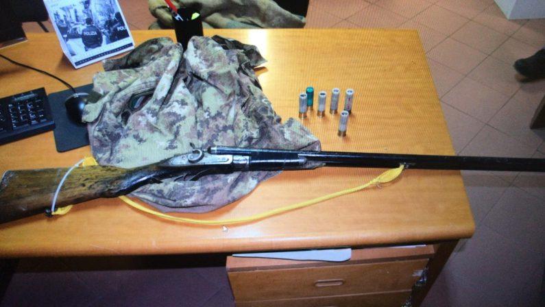 Battuta di caccia al cinghiale, denunciate 4 persone a Lauro