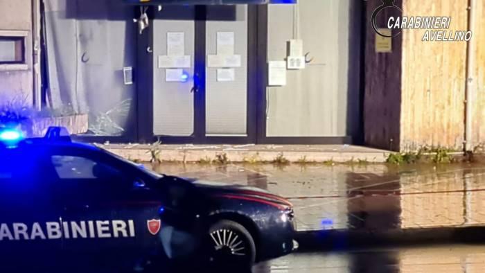 Bomba carta davanti al Centro dell'Impiego ad Avellino