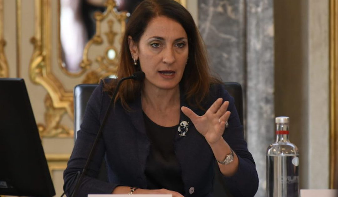 Carla Ruocco, presidente della Commissione banche
