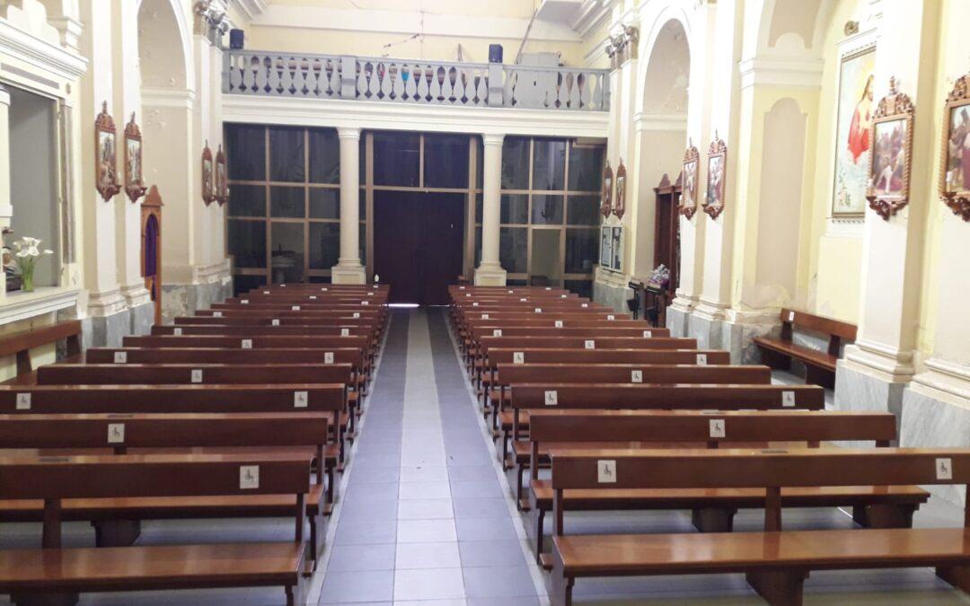 Anche in chiesa verso la normalità: l'esperienza di Acquaro e le regole da rispettare