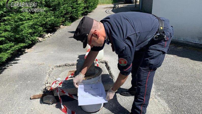 Scarico di acqua reflue e fognarie senza autorizzazione, sequestrato uno scarico del depuratore di San Nicola Arcella