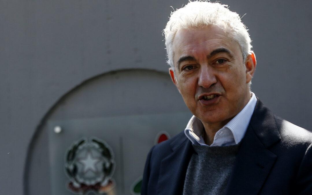 Il commissario straordinario Domenico Arcuri