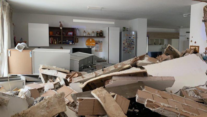 Matera, esplosione per una fuga di gas in un appartamento