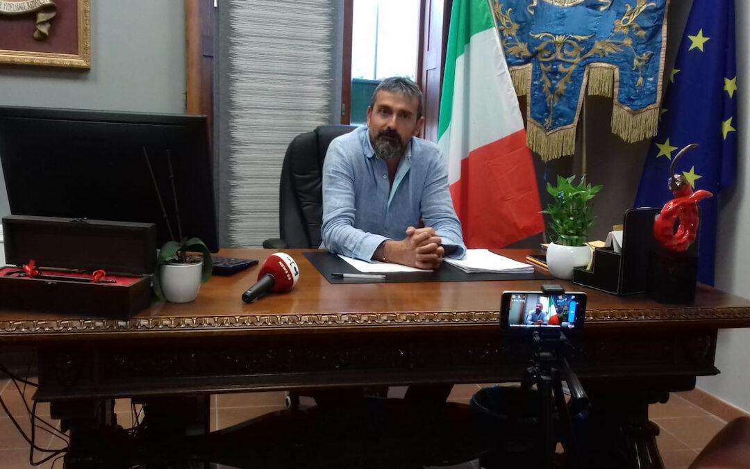 Il sindaco di Tropea, Giovanni Macrì