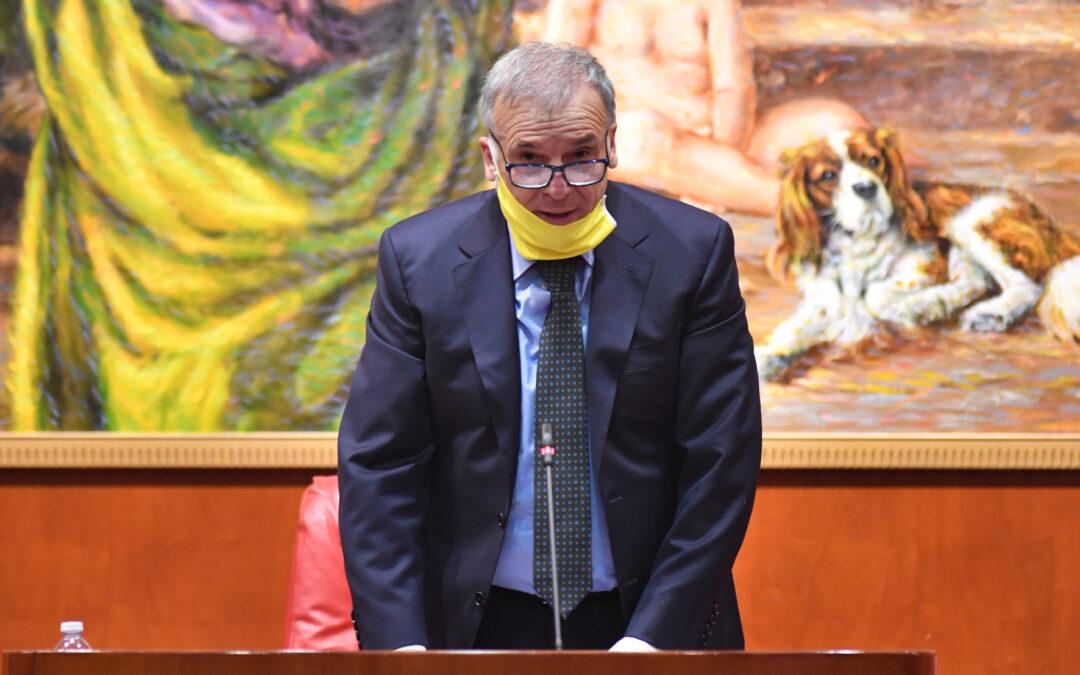 Il presidente del Consiglio regionale Domenico Tallini